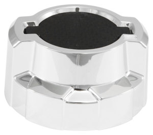 Oil Filler Cap Cover; GM Chrome