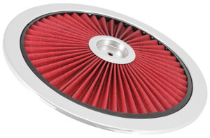 Extraflow HPR Air Cleaner Lid 14 In. - Red