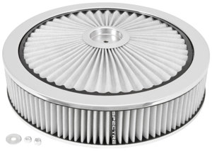 Extraflow HPR Air Cleaner 14 In. x 3 In. - White