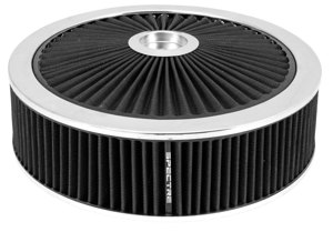 Extraflow HPR Air Cleaner 14 In. x 4 In. - Black