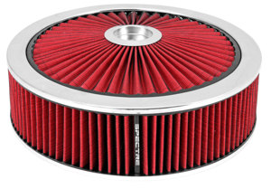 Extraflow HPR Air Cleaner 14 In. x 4 In. - Red