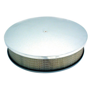 "Polished Aluminum Air Cleaner 14"" X 3"""