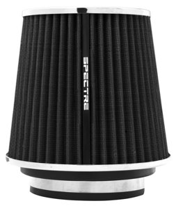 "Air Filter 6.7 in Tall - Cone Filter 3"", 3.5"", 4"" Black"