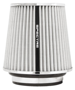 "Air Filter 6.7 in Tall - Cone Filter 3"", 3.5"", 4"" White"