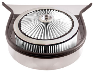 Air Cleaner Kit - Cowl Air Cleaner Tray Extraflow - 5 In. White
