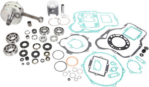 Engine Rebuild Kit w/ Crank, Piston Kit, Bearings, Gaskets & Seals - 05-07 CR85R/RB