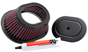 Replacement Air Filter - For Yamaha YFS200 Blaster/Grizzly 88-09