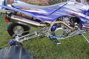YFZ450 ATV Performance Race Exhaust System