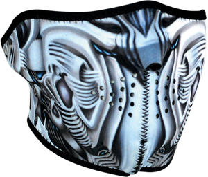 Zan Head Gear Biomechanical Neoprene Half Mask - Face Mask