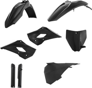 Full Plastic Kit Black - For Husqvarna TC85