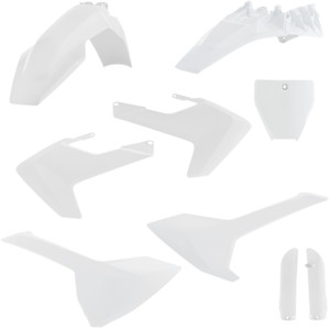 Full Plastic Kit White - For Husqvarna TC85