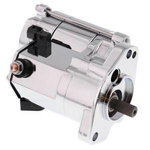 High Torque Starter 1.4Kw Chrome 10-32 Shaft - H-D Big Twin