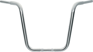 "Chubby Hanger Ape Bar 10"" Chrome - For 74-20 HD Dyna Softail Tour"