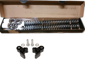Complete Lowering Kit - Front Springs & Rear Blocks - HD Touring