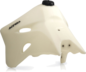 Large Capacity Fuel Tank 3.3 gal (Natural) - 06-09 YZ250F/450F 07-10 WR250F/450F