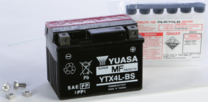 AGM Maintenance Free Battery YTX4L-BS