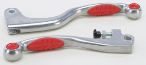 Aluminum OEM Grip Lever Red (PAIR) - For 84-18 Honda
