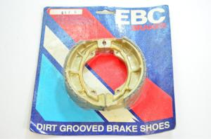 Grooved Organic Brake Shoes