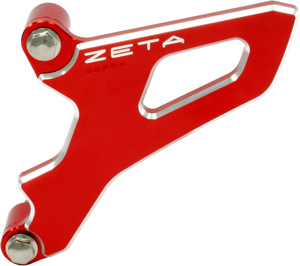 Red Counter-Shaft Sprocket Cover - Many CR/YZ 250