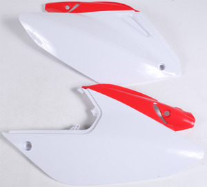 Side Panels White - For 04-17 Honda CRF250X