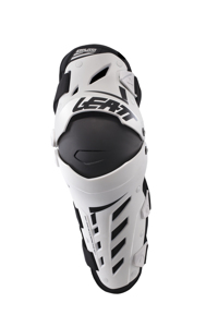 Knee and Shin Guard Dual Axis L/XL White/Black