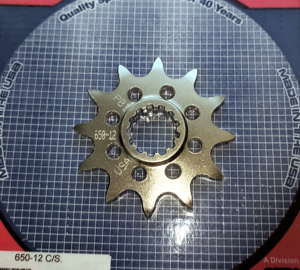 12 Tooth Front Countershaft Sprocket Steel - DRZ400, DR250/350, RM250