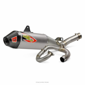 Ti-6 Pro Titanium Full Exhaust System w/ Carbon End Cap - For 18-19 YZ450F