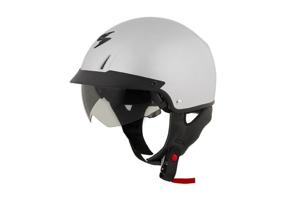 Scorpion EXO-C110 Solid Hypersilver SM Motorcycle Street Helmet - Scorpion EXO-C110 Street Helmet