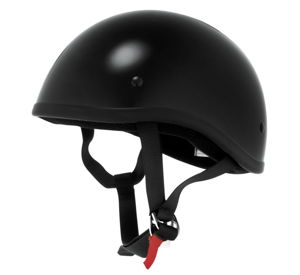 Skid Lid Original MC Helmet - Gloss Black Medium
