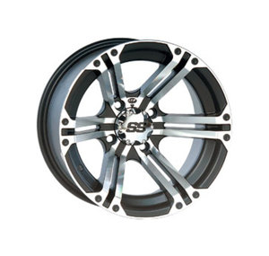 SS212 MACHINED WHEEL 14X8 4/137 5+3