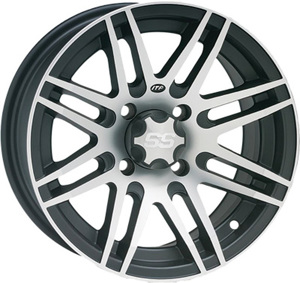 SS316 MACHINED WHEEL 12X7 4/110 2+5