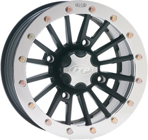 SD BEADLOCK SST ALLOY WHEEL BLACK 12X7 4+3 4/137