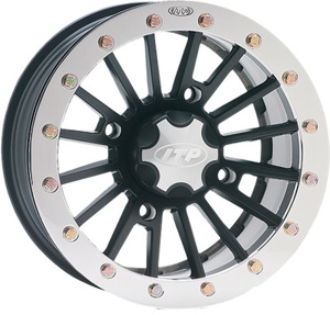SD DUAL BEADLOCK SST ALLOY WHEEL BLACK 14X7 5+2 4/110