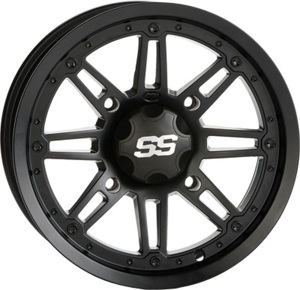SS216 MATTE BLACK WHEEL 14X7 4/156 4+3