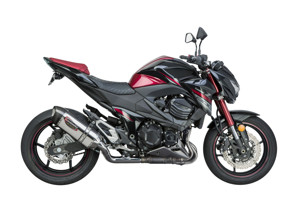 Street Alpha Stainless Steel Slip On Exhaust - Kawasaki Z800 Models