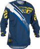 Evolution 2.0 Jersey Navy/Yellow/White Youth X-Large
