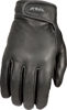 Rumble Thin Leather Riding Gloves Large
