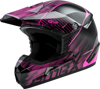 MX-46 Off-Road Colfax MX Helmet Black/Hi-Vis Pink X-Small