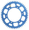 RS Rear Sprocket 51T 520 Blue - For Yamaha WR YZ Honda XR