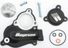 Waterpump Cover Impeller Kit Black - For 17-19 Kawasaki KX250F