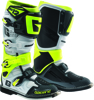 SG-12 Boots White/Black/Fluorescent Yellow US 14