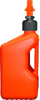Gas Can Orange W/Orange Tip 5Gal