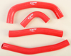Radiator Hose Kit Red - For 17-19 Honda CRF450R