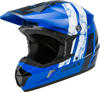 MX-46Y Dominant Helmet Blue/Black/White Youth Large