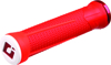 AG1 Lock-On ATV Grips Red & Fire - Fits Thumb Thrt. ON PWC ATV & Snowmobiles