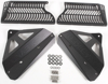 Aluminum Radiator Guard Black - For 06-08 Honda CRF450R
