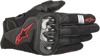 SMX1 Air V2 Motorcycle Gloves Black/Red X-Large