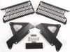 Aluminum Radiator Guard Black - For 04-12 Hon CRF250R/X