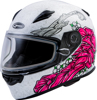 FF-49S Yarrow Helmet Full-Face White/Pink X-Small