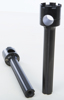 "8"" Handlebar Riser 1"" Bar Narrow Black"